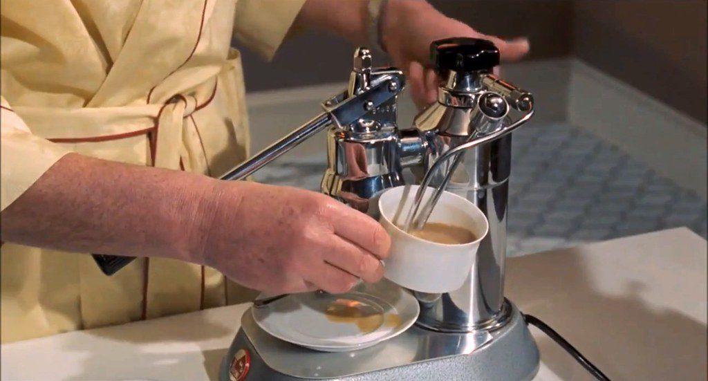 kuchnia Jamesa Bonda ekspres do kawy