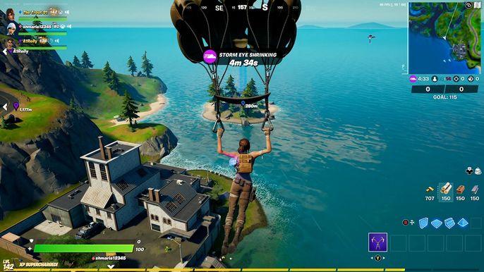 Lara Croft na wyspie w grze
