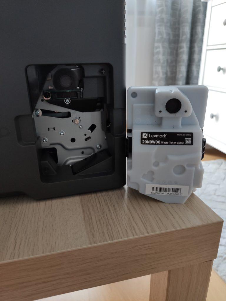 lexmark mc3224dwe pojemnik na zużyty toner