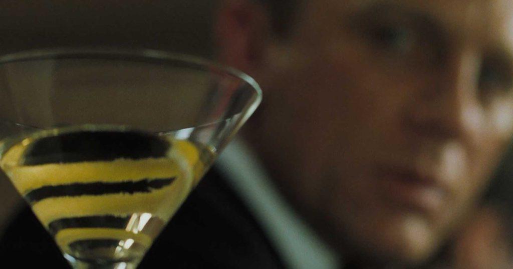 martini zatrute Casino Royale