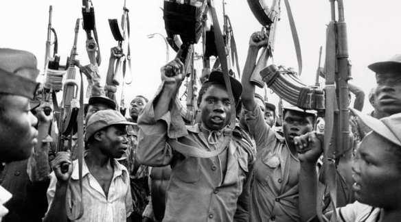 rebelianci w Mozambiku