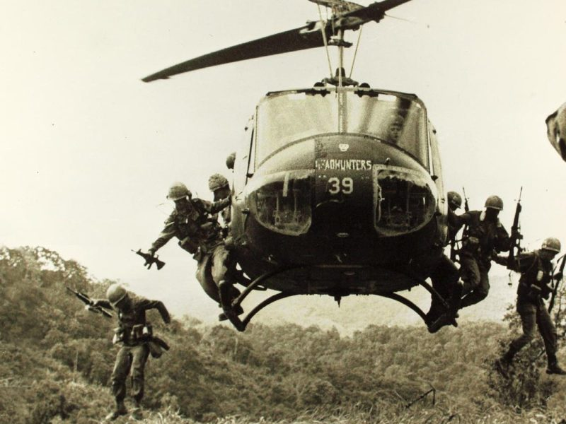 Kultowe utwory z okresu wojny w Wietnamie