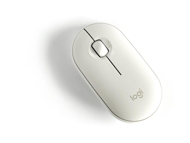 biała mysz logitech