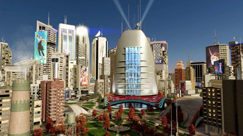 nba 2k21 the city panorama