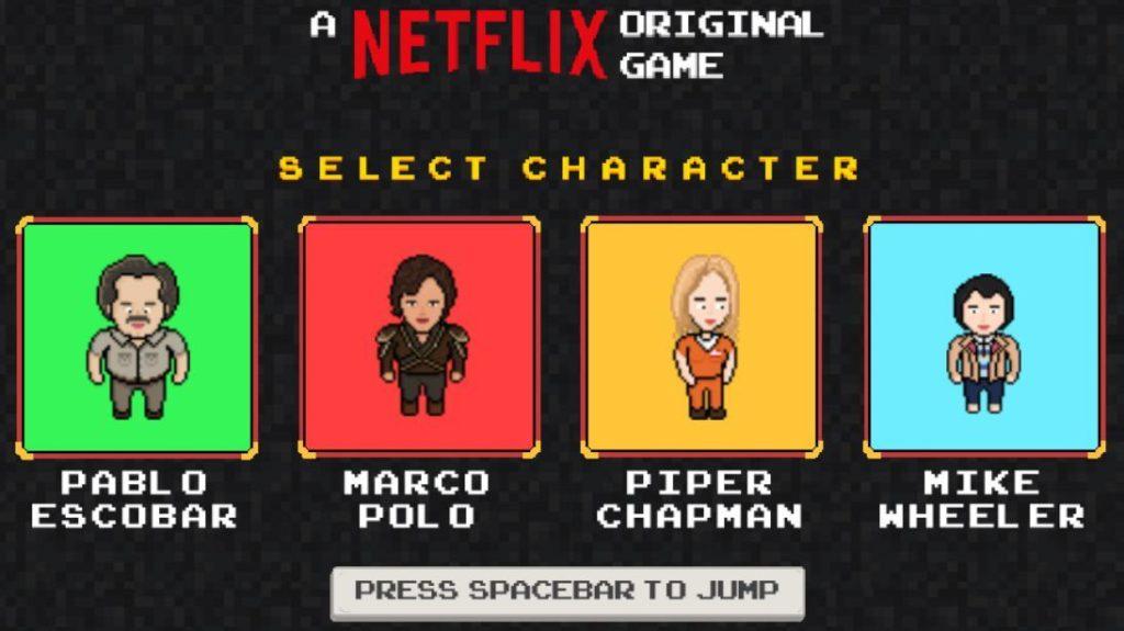 Netflix gra wideo