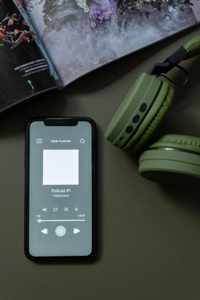 Podcast słuchanie