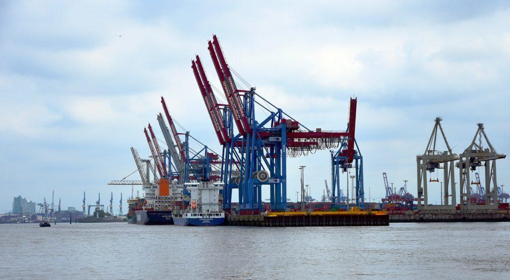 port żurawie