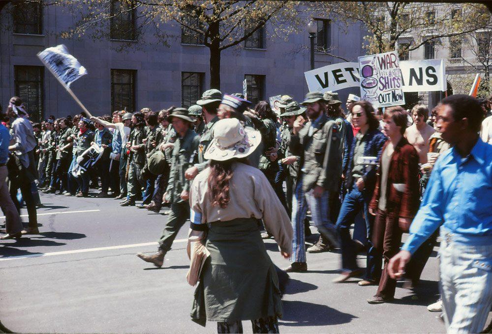 protest przeciwko wojnie w wietnamie