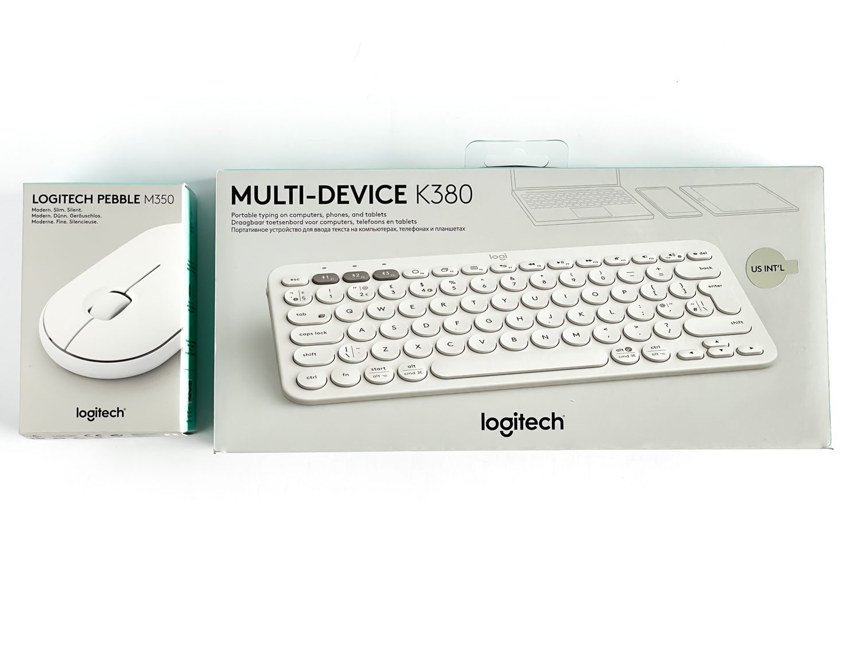 pudełko z klawiaturą logitech k380