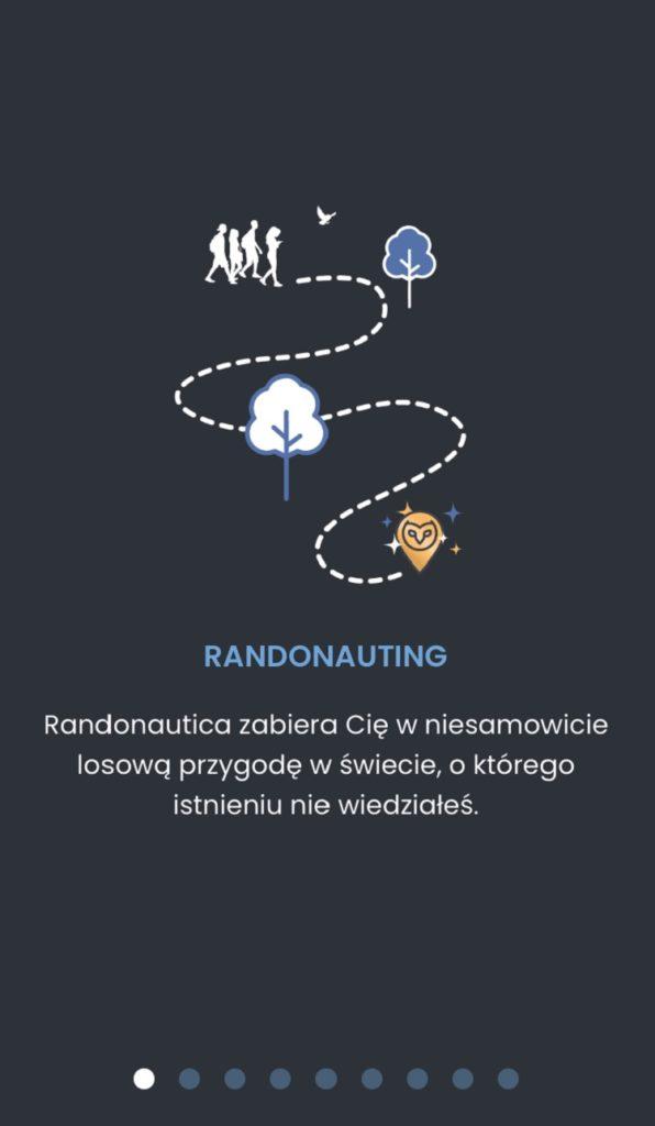 Randonautica aplikacja proces tworzenia konta
