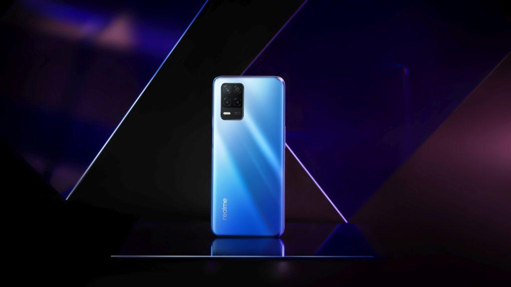 niebieski realme 8 5G