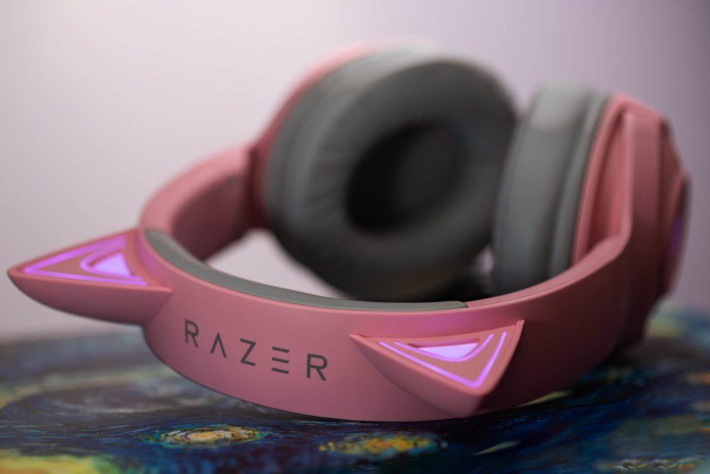 Pałąk i podświetlenie Razer Kraken Kitty Edition Quartz