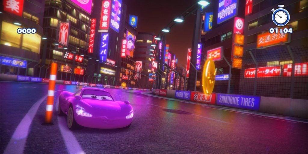 Rush przygoda ze studiem pixar auta