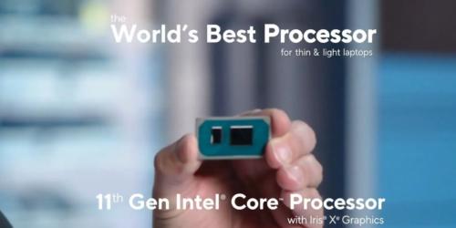 Wyciekła prezentacja, na której Intel porównuje procesory: Intel Core i5-11400H i AMD Ryzen 9 5900HS