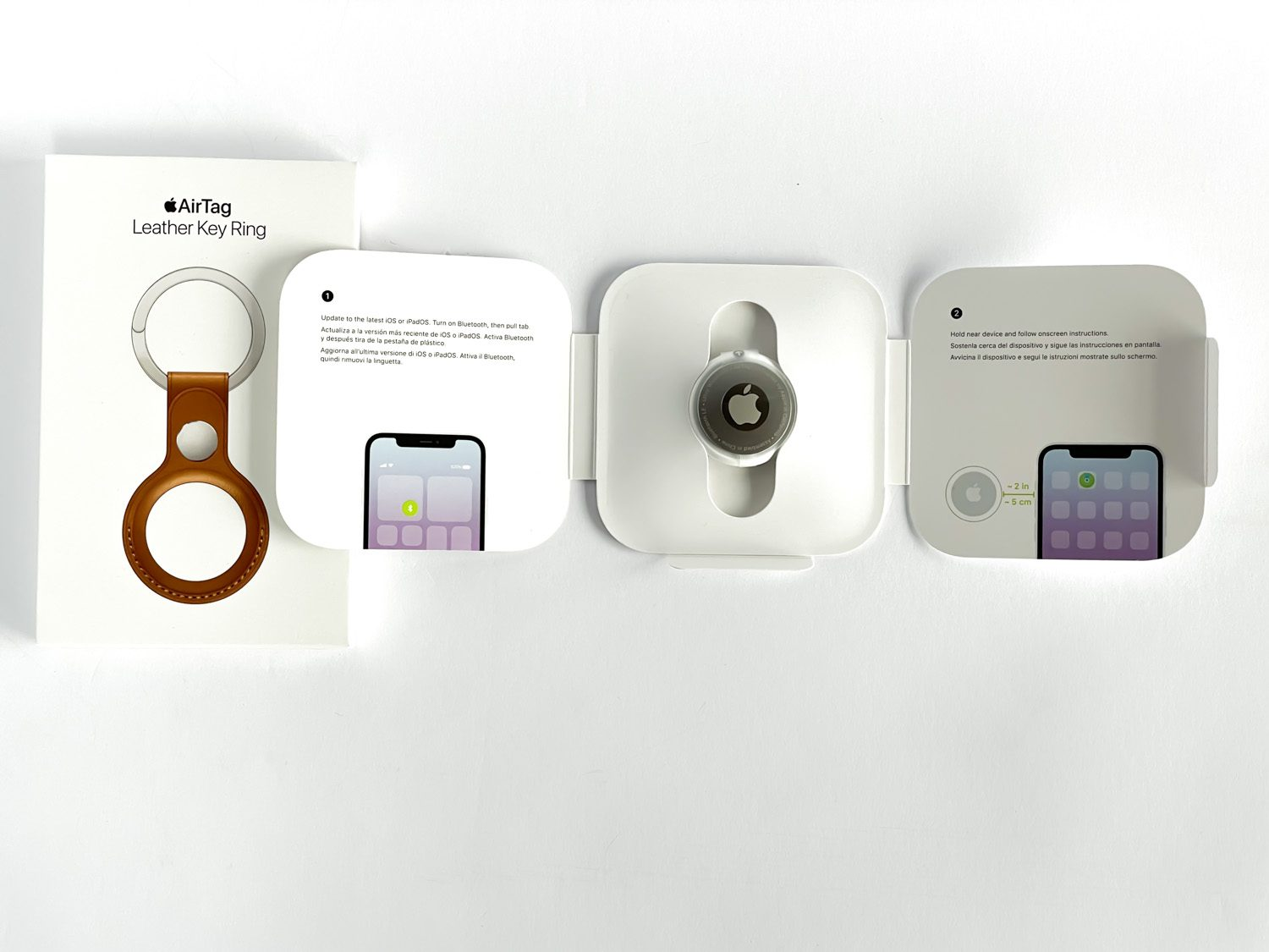 unboxing apple airtag