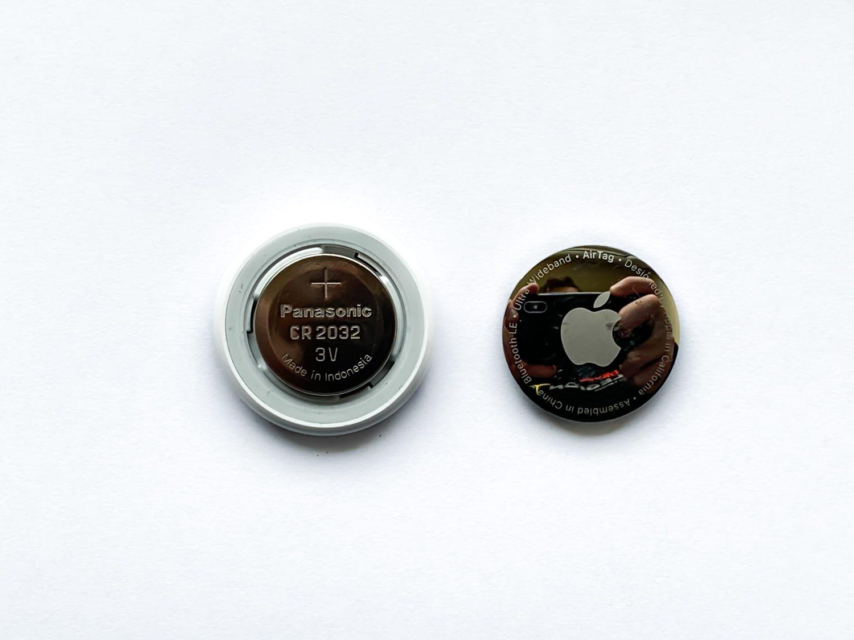 apple airtag wymiana baterii