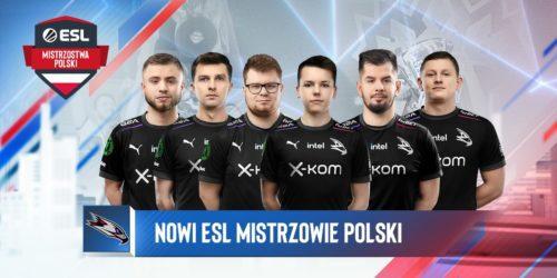 x-kom AGO wygrywa ESL Mistrzostwa Polski w CS:GO