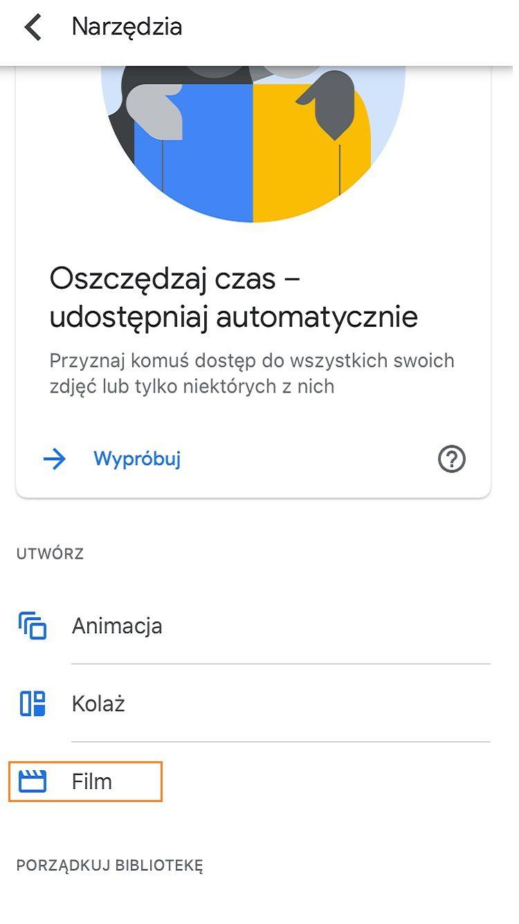Zdjęcia Google aplikacja