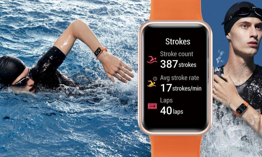 smartwatch do pływania na basen