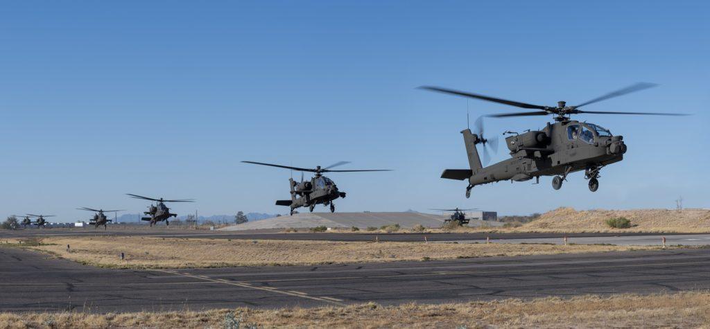 AH-64E gotowe na współdziałanie z dronami