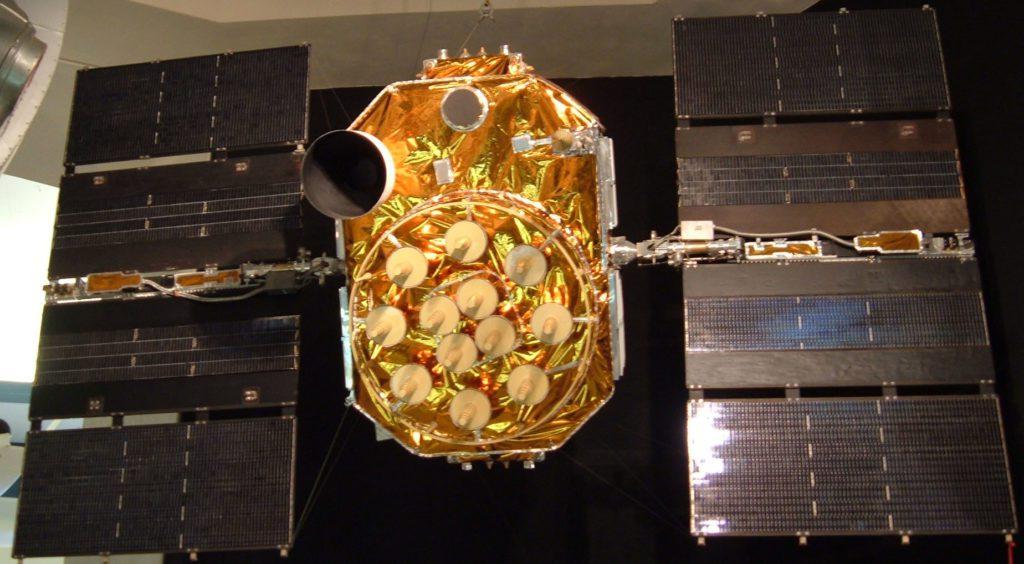 GPS block II-A satellite