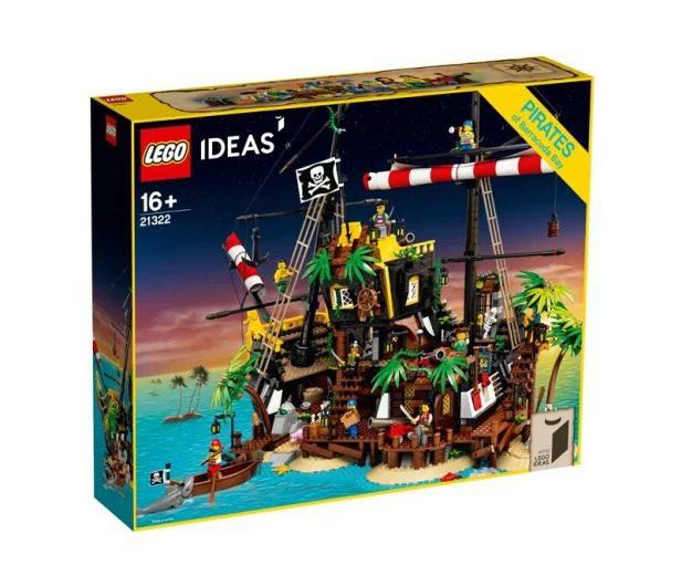 LEGO Ideas Piraci z Zatoki Barakud