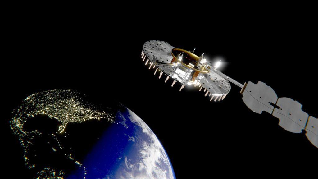 satelita NTS-3 wizualizacja