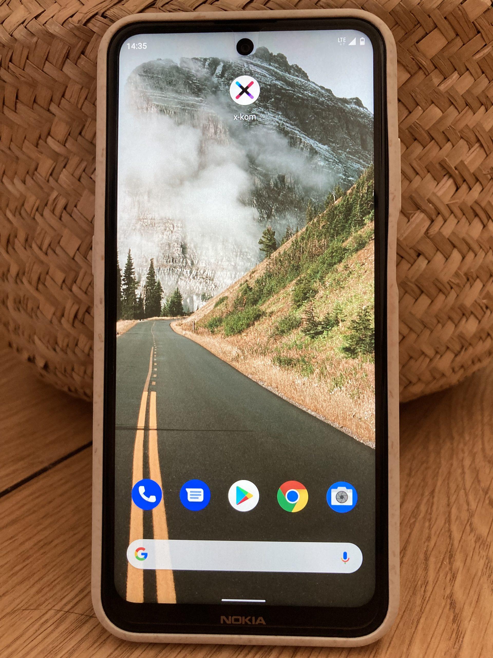 Nokia X20 ekran 1
