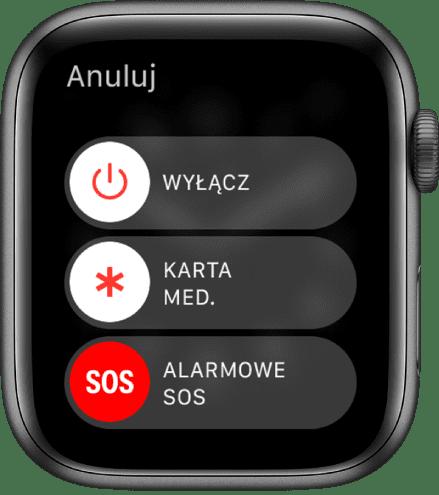 Apple Watch SOS alarm