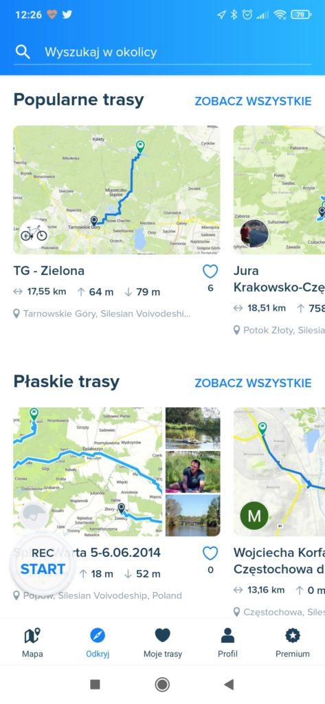 bikemap trasy