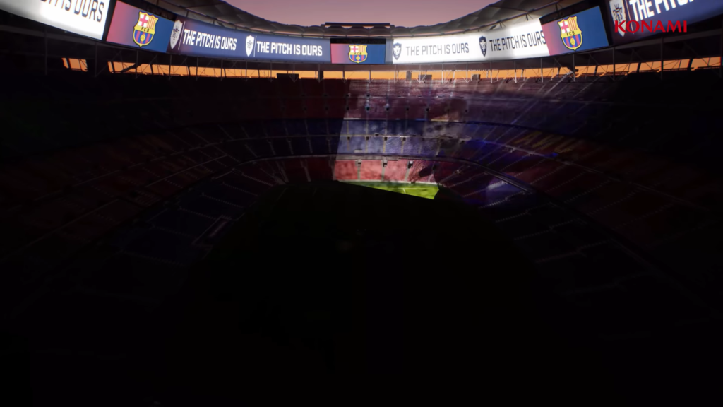 Camp Nou PES 2022