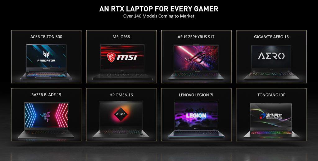 Computex 2021 nowe laptopy