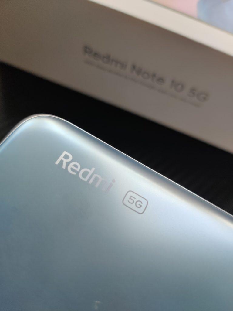 design Redmi Note 10 5G