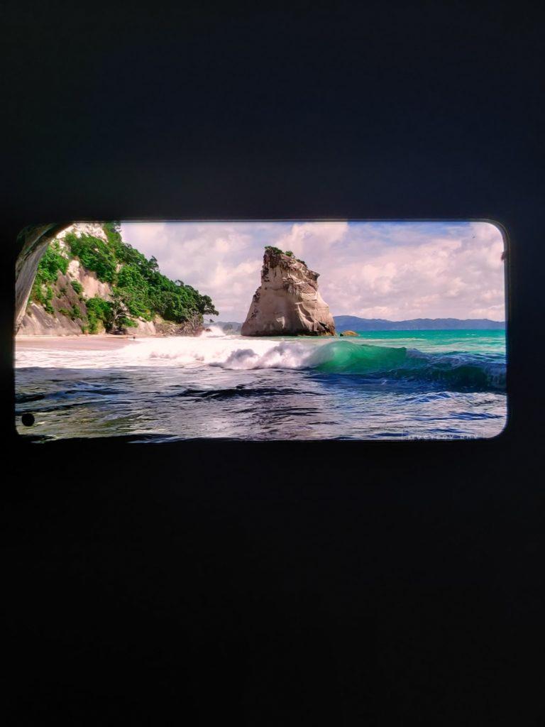 OnePlus 9 Pro ekran krajobraz
