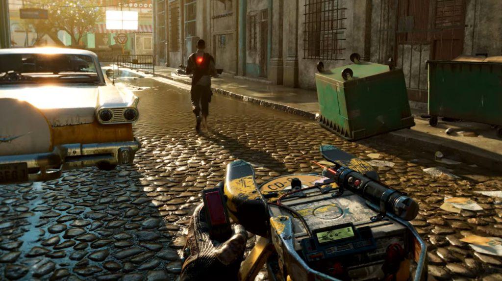 Far Cry 6 broń na płyty CD