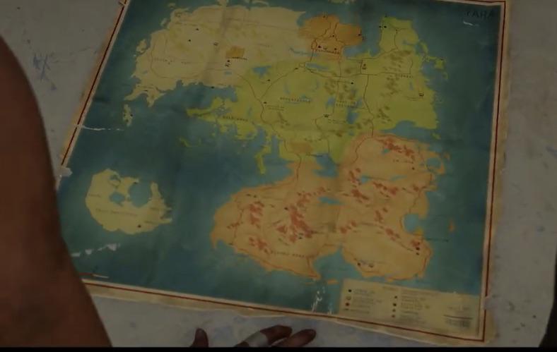Far Cry 6 Yara mapa