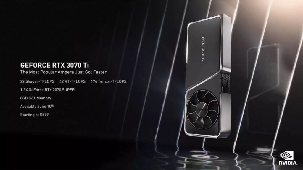 GeForce RTX 3070 Ti specyfikacja
