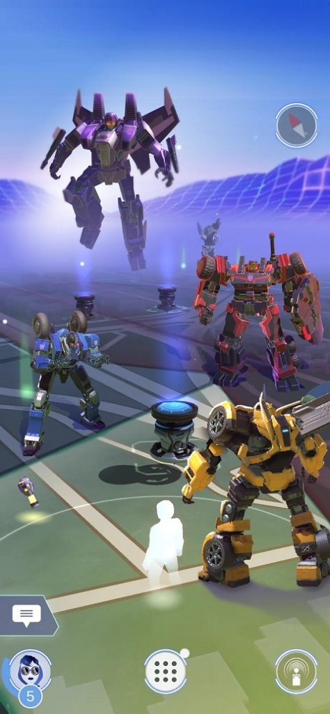 gra Transformers: Heavy Metal walka
