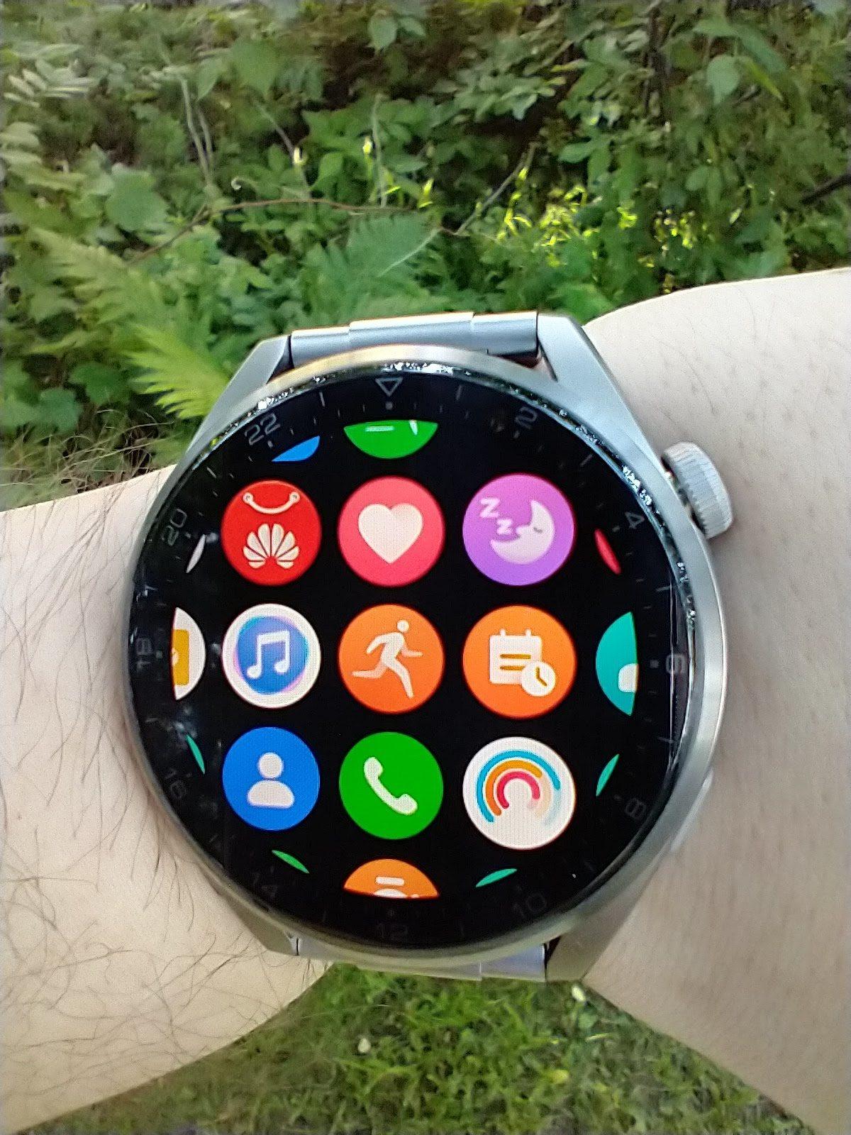Huawei Watch 3 Pro Elite menu