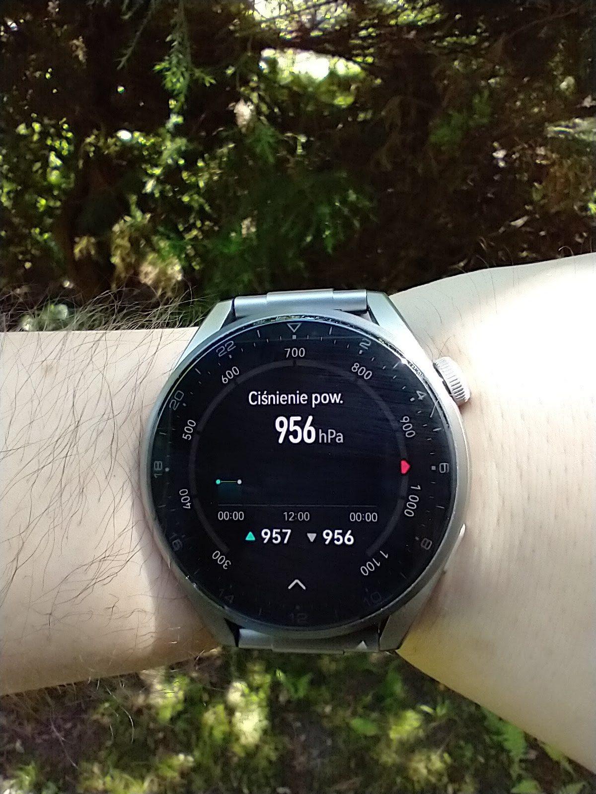 Huawei Watch 3 Pro Elite ciśnienie