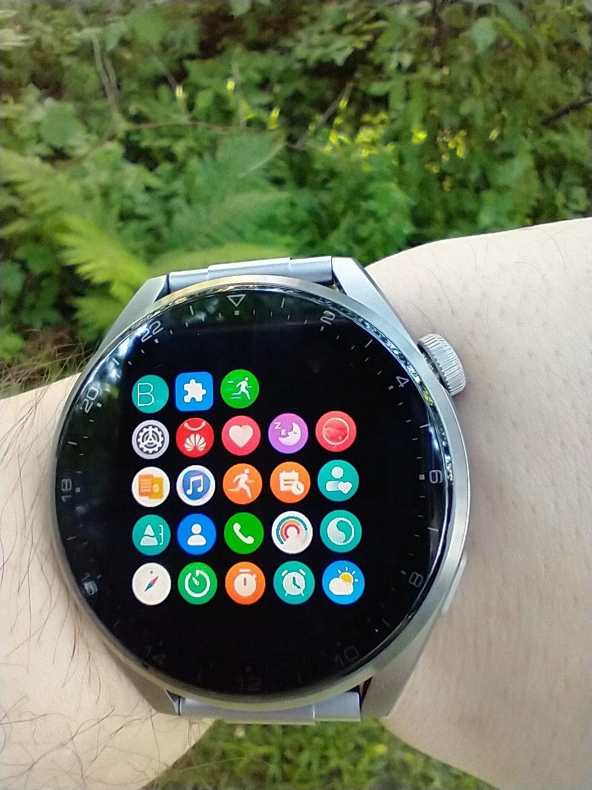 Huawei Watch 3 Pro Elite menu inny widok