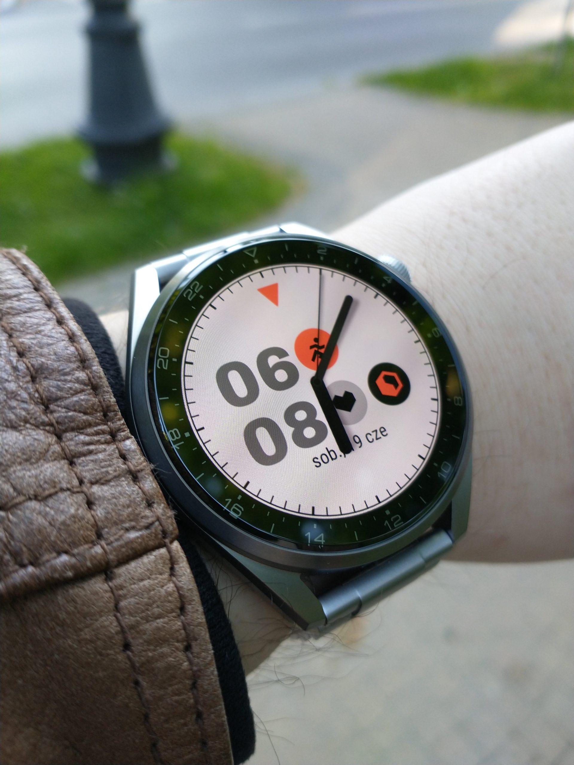 Huawei Watch 3 Pro Elite tarcza Biel