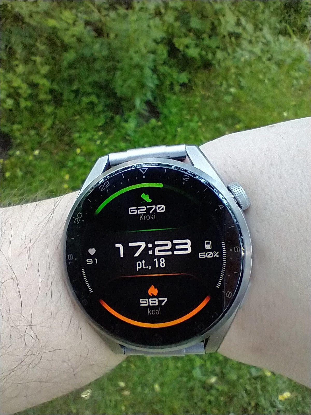 Huawei Watch 3 Pro Elite tarcza Energia