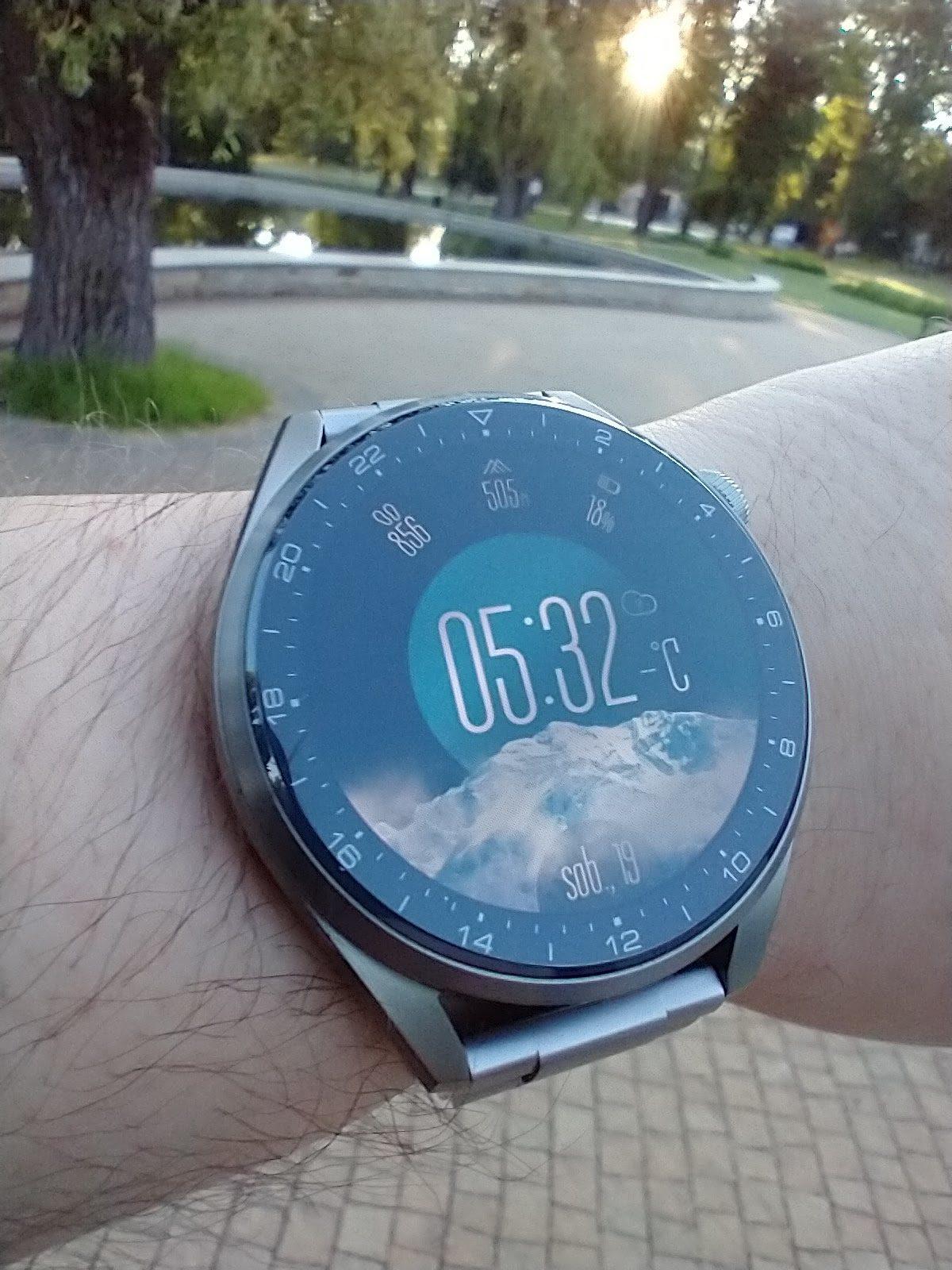 Huawei Watch 3 Pro Elite tarcza Góry