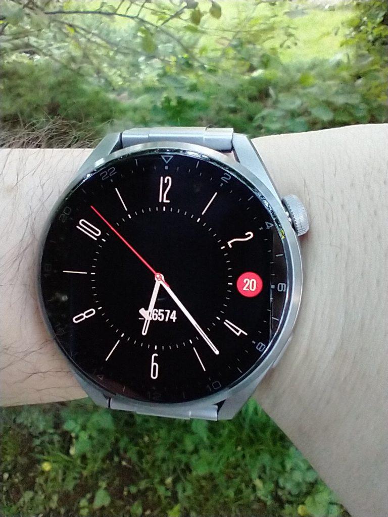 Huawei Watch 3 Pro Elite tarcza w trybie ultra