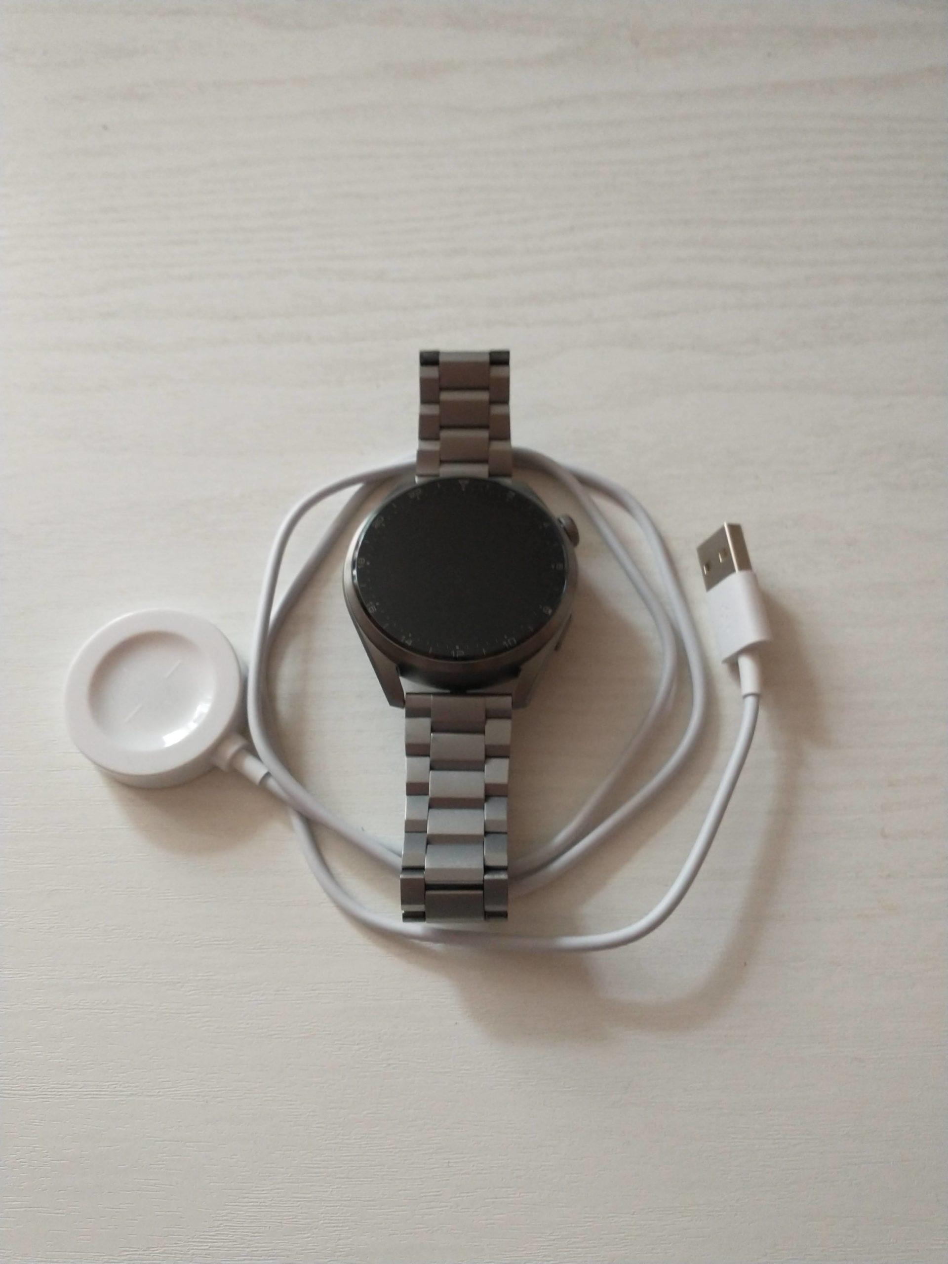 Huawei Watch 3 Pro Elite zegarek i ładowarka