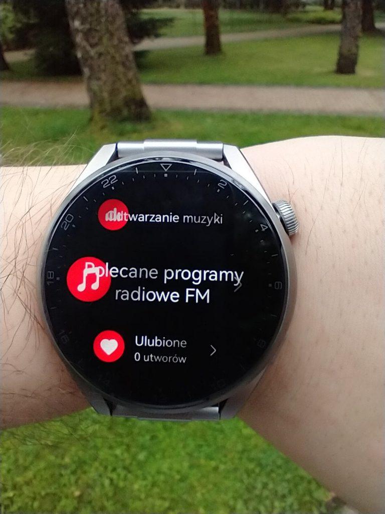 Huawei Watch 3 Pro Elite odtwarzacz