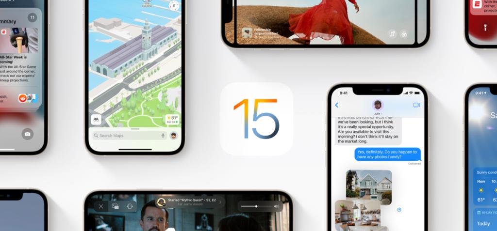 system iOS 15