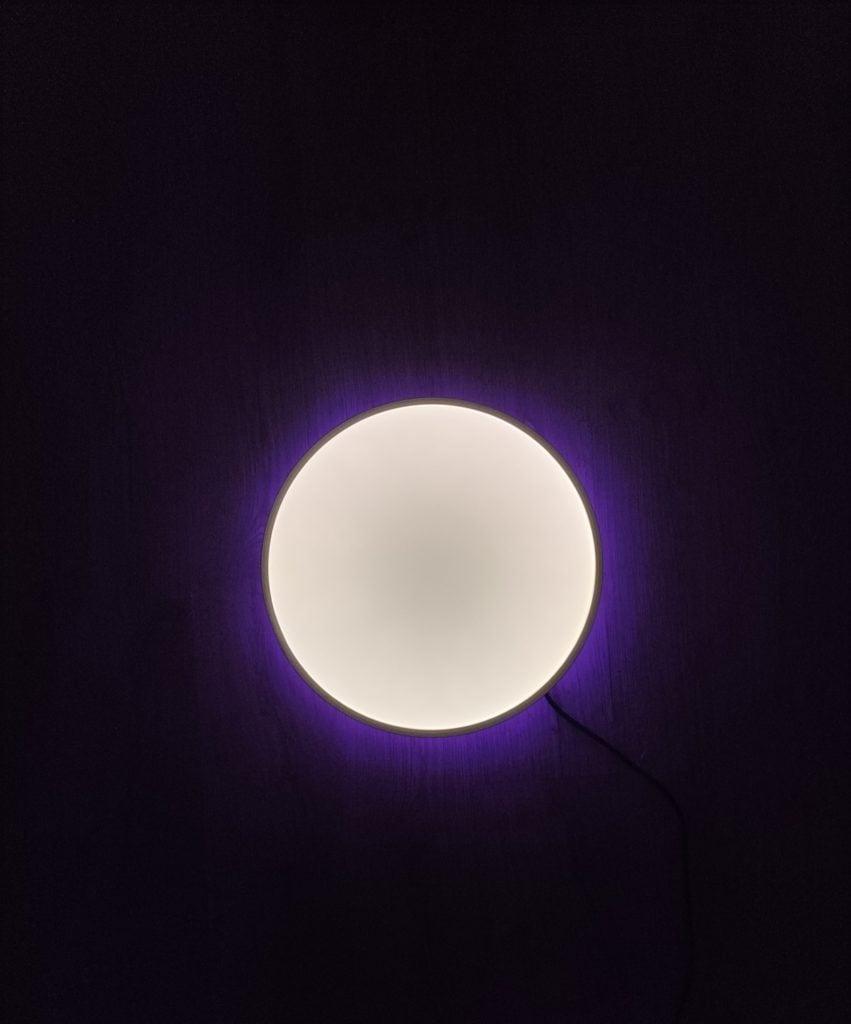 yeelight arwen ceiling light 450s od góry