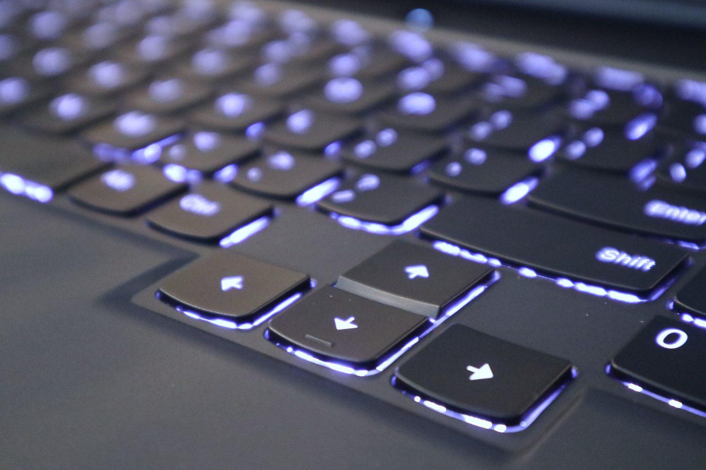 lenovo legion 5 podświetlenie klawiatury